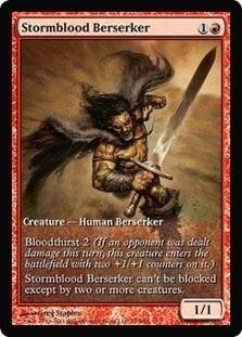 Stormblood Berserker - Game Day Promo