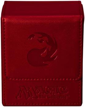 Ultra Pro Red Mana Flip Deck Box