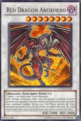 Red Dragon Archfiend - TU06-EN008 - Rare - Unlimited Edition on Channel Fireball