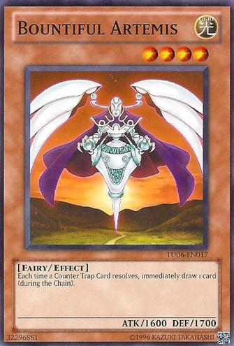 Bountiful Artemis - TU06-EN017 - Common - Unlimited Edition