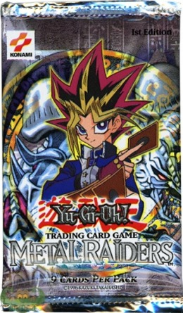 Metal Raiders 1st Edition Booster Pack