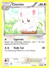 Cinccino 85/98 - Reverse Holofoil on Channel Fireball