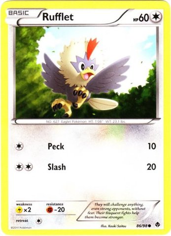 Rufflet - 86/98 - Common