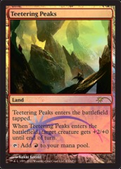 Teetering Peaks - Foil FNM 2011