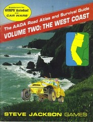AADA Road Atlas and Survival Guide, Volume Two: The West Coast