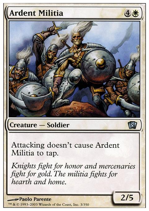 Ardent Militia - Foil