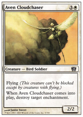 Aven Cloudchaser - Foil on Channel Fireball