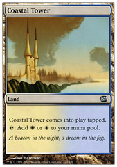 Coastal Tower - Foil (8ED)