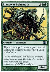 Llanowar Behemoth - Foil
