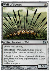 Wall of Spears - Foil