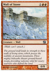 Wall of Stone - Foil