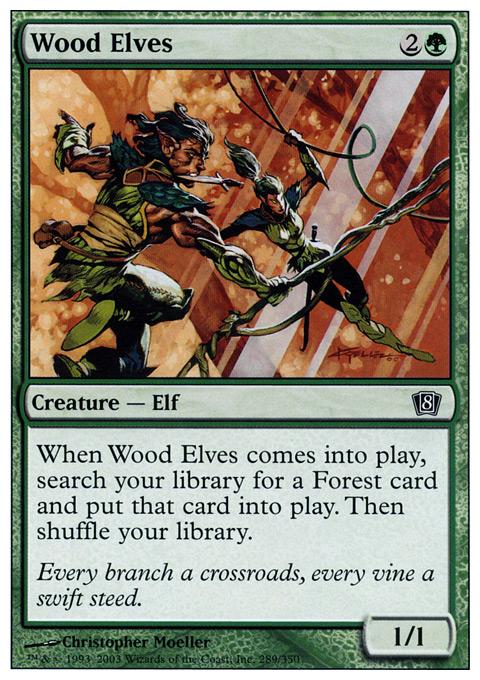 Wood Elves - Foil