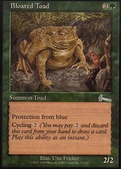 Bloated Toad - Foil on Channel Fireball