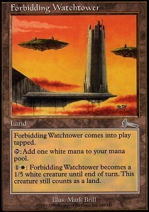 Forbidding Watchtower - Foil