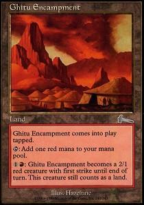 Ghitu Encampment - Foil