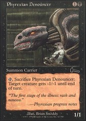 Phyrexian Denouncer - Foil