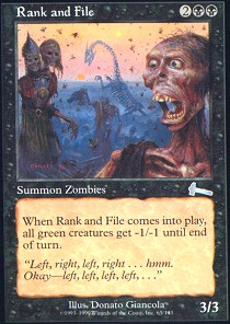 Rank and File - Foil