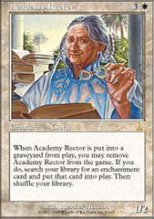Academy Rector - Foil on Channel Fireball