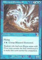Blizzard Elemental - Foil on Channel Fireball
