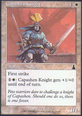 Capashen Knight - Foil on Channel Fireball