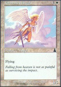 Tormented Angel - Foil