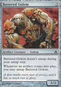 Battered Golem - Foil