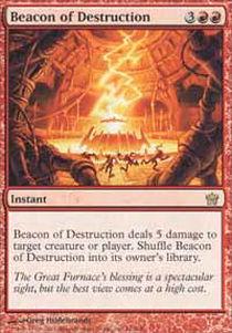 Beacon of Destruction - Foil