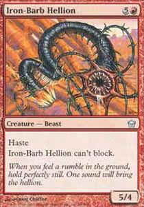 Iron-Barb Hellion - Foil