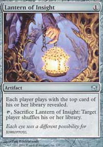 Lantern of Insight - Foil