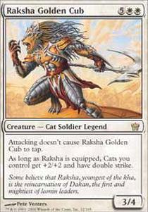 Raksha Golden Cub - Foil