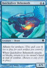 Quicksilver Behemoth - Foil