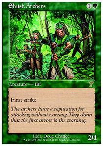 Elvish Archers - Foil