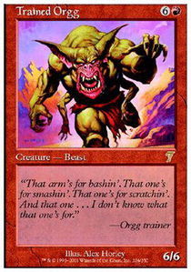 Trained Orgg - Foil