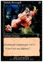 Unholy Strength - Foil