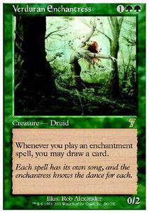 Verduran Enchantress - Foil