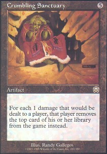 Crumbling Sanctuary - Foil