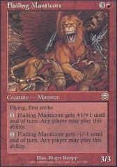 Flailing Manticore - Foil