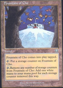 Fountain of Cho - Foil