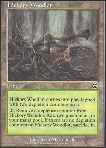 Hickory Woodlot - Foil