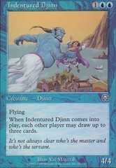 Indentured Djinn - Foil