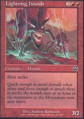Lightning Hounds - Foil