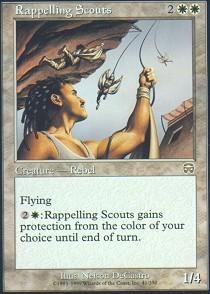 Rappelling Scouts - Foil