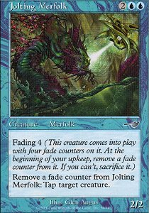 Jolting Merfolk - Foil