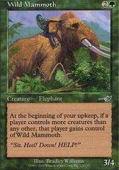 Wild Mammoth - Foil