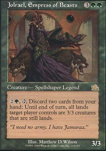Jolrael, Empress of Beasts - Foil