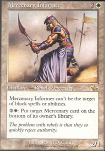 Mercenary Informer - Foil