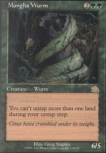 Mungha Wurm - Foil