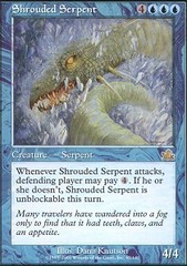 Shrouded Serpent - Foil