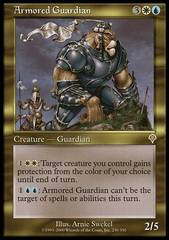 Armored Guardian - Foil on Channel Fireball