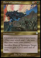 Fires of Yavimaya - Foil on Channel Fireball